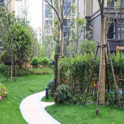 承接楼盘、小区绿化工程